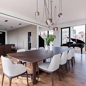 意大利家具Poliform打造纽约阳光私宅